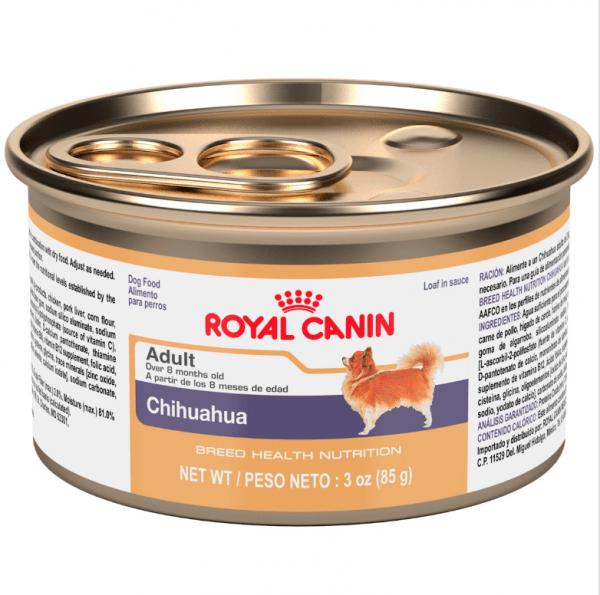Royal Canin Chihuahua Alimento Húmedo en Lata 85g 1
